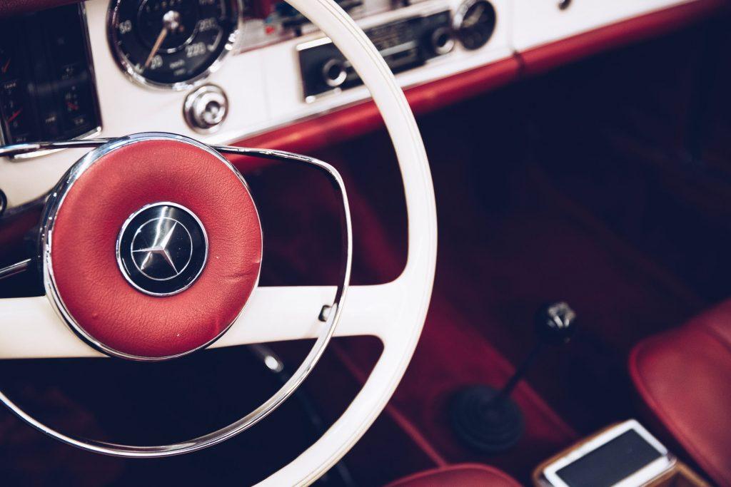 Mercedes belastingvrije auto