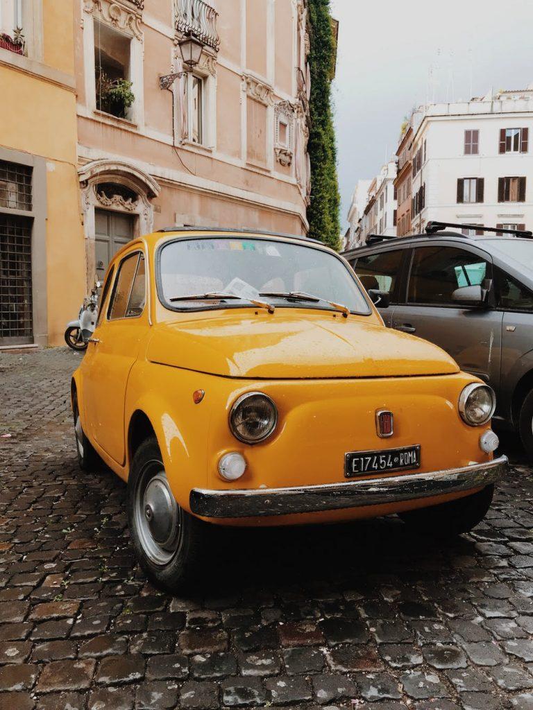 Fiat 500 belastingvrije auto