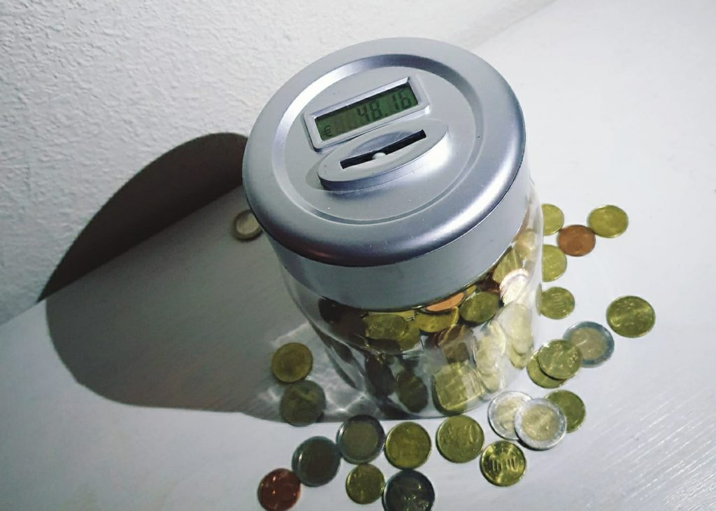 Spaar tips - zelf tellende spaarpot