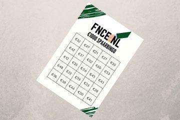 1000 euro spaar bingo